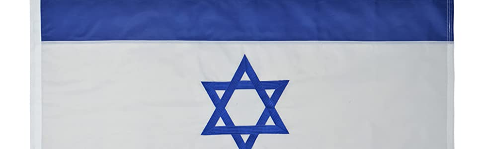 Israel 3x5 flag