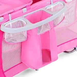 interior en Comfort Foam /™ Peso y densidad 45/% Sin sustancias nocivas Plegable Bolsa de transporte de 60 x 120 x 6 cm 100/% algod/ón extra/íble y lavable Colch/ón de viaje para cuna premium