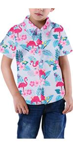 boys flamingo shirts