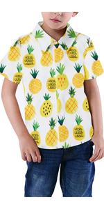 boys pineapple shirts