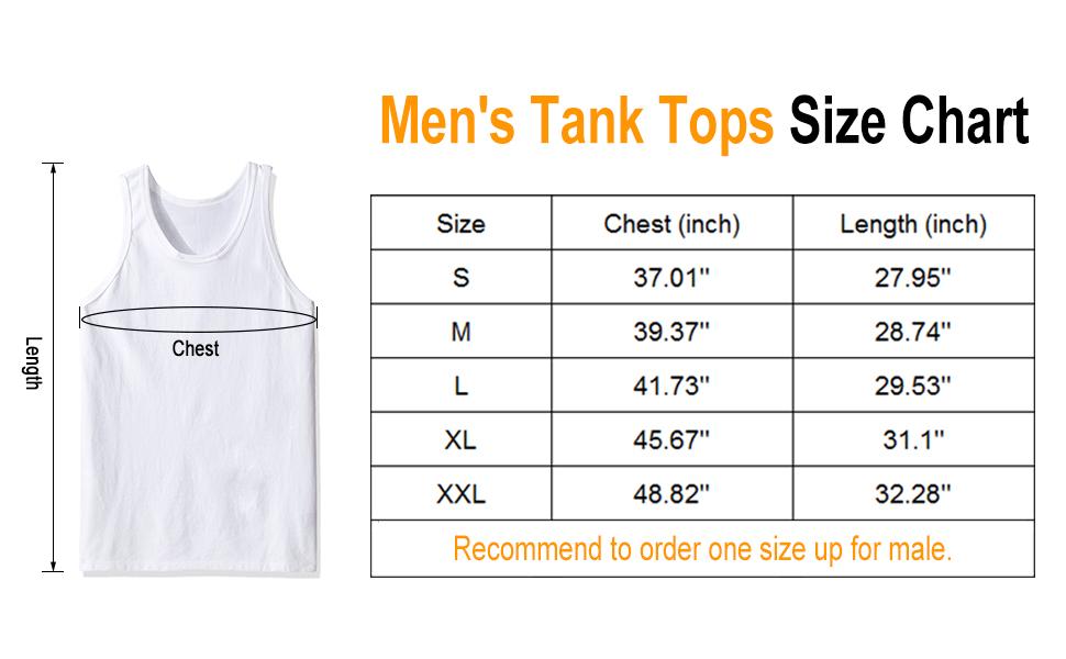 men's tank tops
