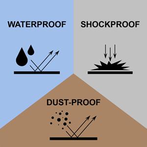 Shockproof dust-proof waterproof