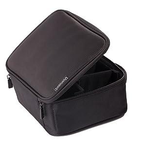 Amazon.com: ROWNYEON Portable Travel Makeup Bag Makeup Case Mini ...