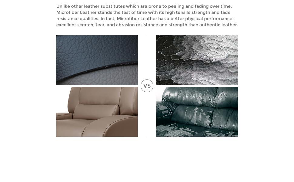 vegan leather sofa, bonded leather, bonded leather sofa, leather sofa, microfiber leather