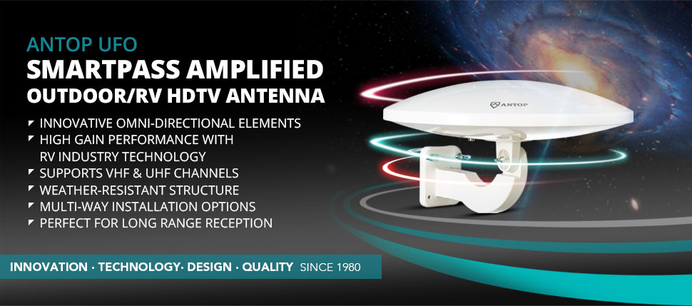 Amazon.com: Outdoor TV Antenna for Multiple TVs, ANTOP UFO