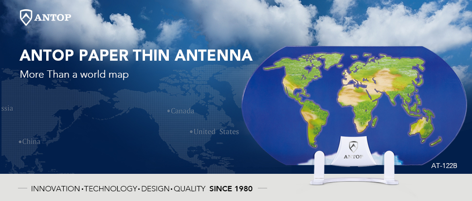 Amazon tv antennaantop 3d pattern design amplified hd tv antop paper thin smartpass amplified indoor hdtv antenna with unique 3d world map design is aesthetically pleasing and suitable to match a wide range of gumiabroncs Image collections