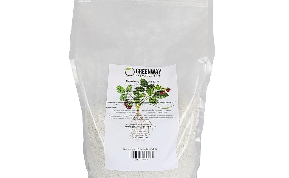 Amazon com : Strawberry Fertilizer 8-12-32 Powder 100% Water Soluble
