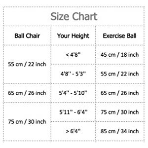 exercise ball for kids adults women men pregnant