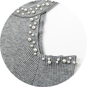 497a358751a BerryGo Women s Sexy Cold Shoulder Halter Bodycon Round Neck Sweater ...