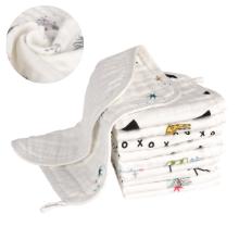 Super Soft and Ultra Absorbent Muslin washcloths