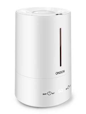 3 Mist Level Adjustable Sleep Mode Smart Air Humidifiers for Large Room 4.5L Top Cool Mist Humidifier Quiet Ultrasonic Humidifier with LED Display ONSON Humidifiers for Bedroom