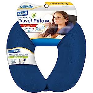 Cloudz Microbead Travel Neck Pillows