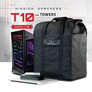mission darkness t10 faraday bag xl cage computer tower laptop digital forensics signal blocking