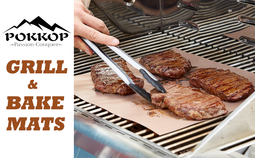 Amazon.com : Copper Grill Mat Set Of 3