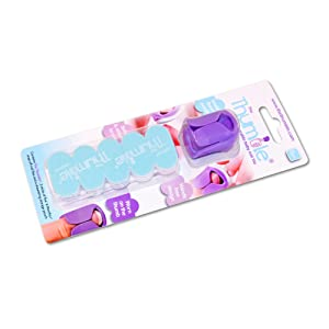 The Thumble wearable baby nail file 6 months+ pack with a Thumble, 15 nail file & a drawstring pouch