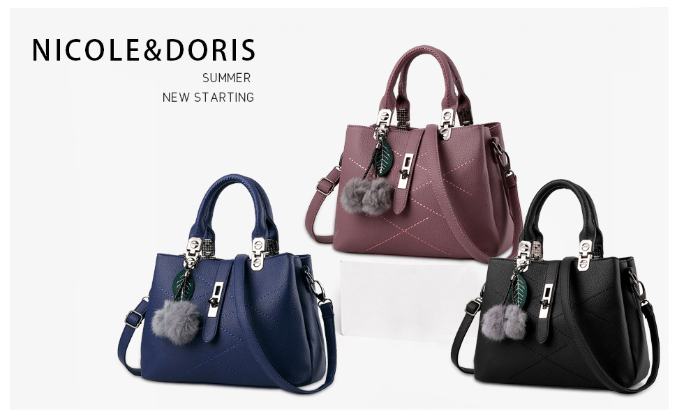 NICOLE  DORIS is famous for Italy as a fashionable ladies bag brand.  Founded in Italy 579c4c60b68e1