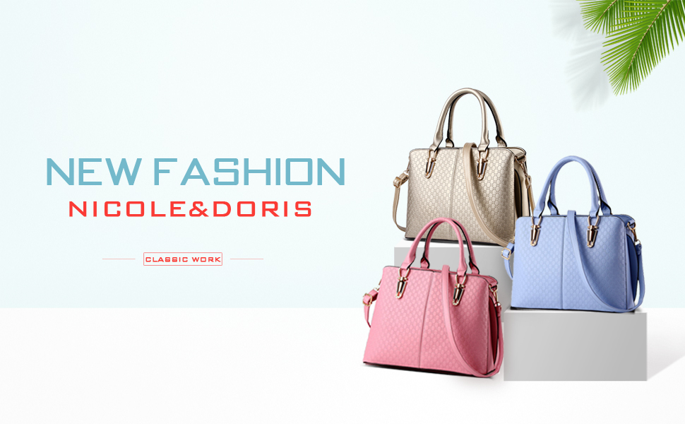 NICOLE& DORIS is famous for Italy as a fashionable ladies bag brand.  Founded in Italy, from fashion designer Nicokle in 1980. NICOLE & DORIS bag  adopts ...