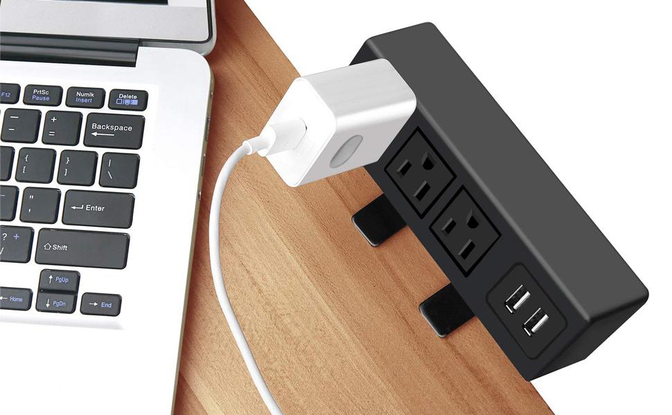 Desk outlet 1