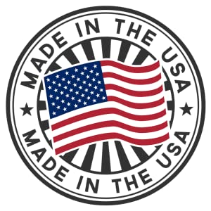 usa america made in stamp banner