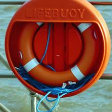 life buoy safety ring marine uses polypropylene uses boating mooring towing fishing waterproof rope