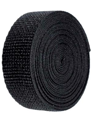 black nylon webbing