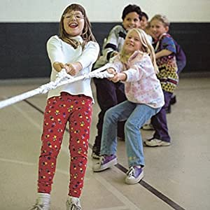 children tug of war poly dacron golberg rope