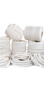 twisted natural cotton rope golberg
