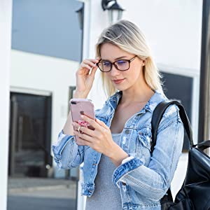 bule light blocking glasses for phone