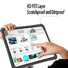 ipad 11 waterproof case built in screen protector