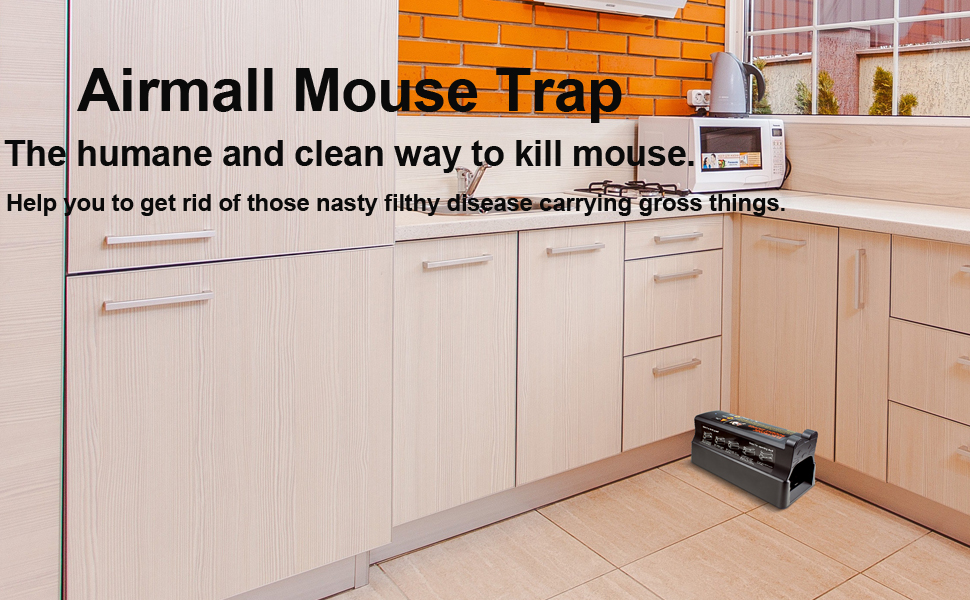 Amazon.com : Electronic Rodent Trap, Powerful High Voltage Mouse ...