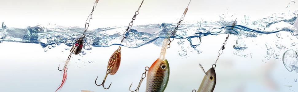 saltwater lures equipment catfish hooks fishing tackle lures freshwater fishing swivels snaps