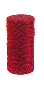 colored jute twine