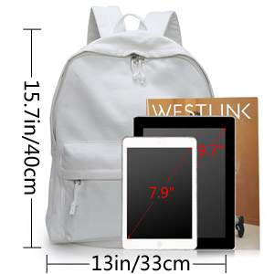 DIY Canvas Backpack