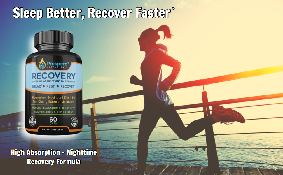 post workout recovery, sleep aid, zma recovery, high quality magnesium, zinc sleep