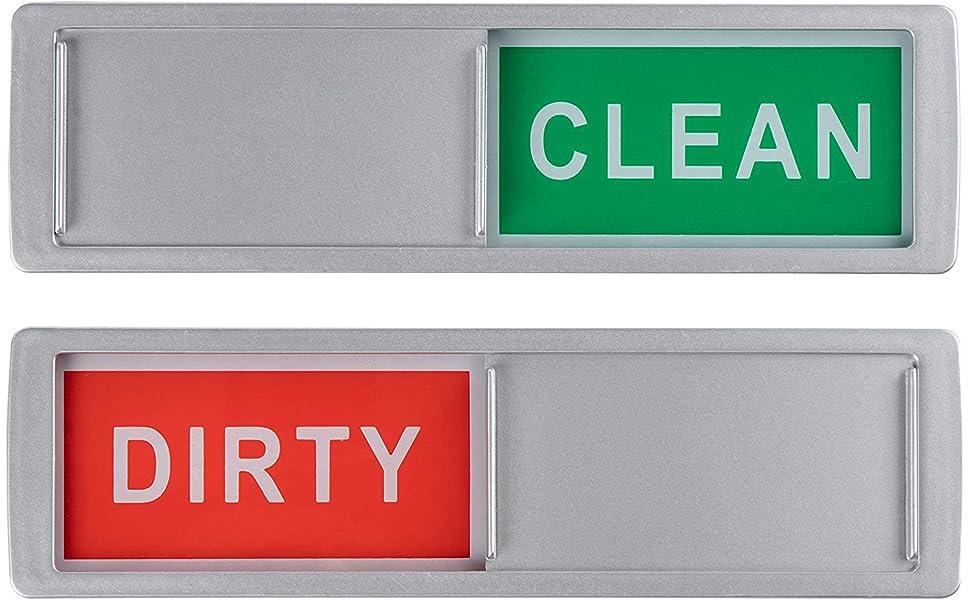 Amazon.com: Señal de limpieza para lavavajillas – Paquete de ...