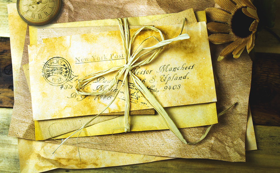 Best paper greetings 48 pack aged antique stationery envelopes best paper greetings 48 pack aged antique stationery envelopes writing printing classic old fashioned envelopes value m4hsunfo
