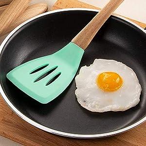 non stick nonstick non-abrasive gourmet pan cookware frying stir-fry soft smooth