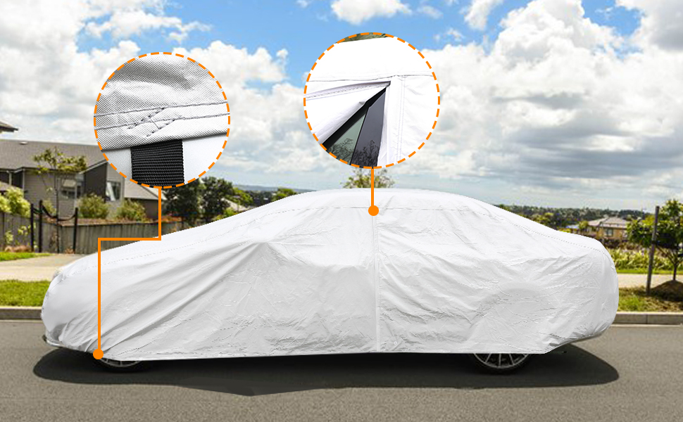 CAR DRESS SUN CAR COVER