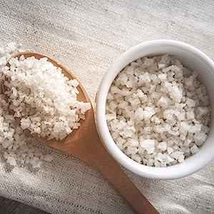 sea salt bowl gourmet cooking foodie gift