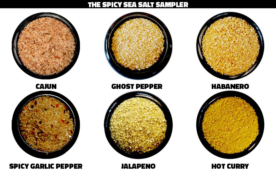 spicy sea salt hostess holiday teacher gift hot food foodie lover great gourmet item
