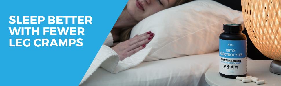 keto electrolytes supplement potassium magnesium calcium sodium pills leg cramps sleep better energy