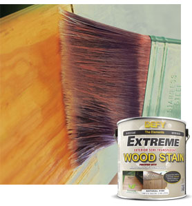 Defy Extreme 1 Gallon Exterior Wood Stain Crystal Clear Household Wood Stains
