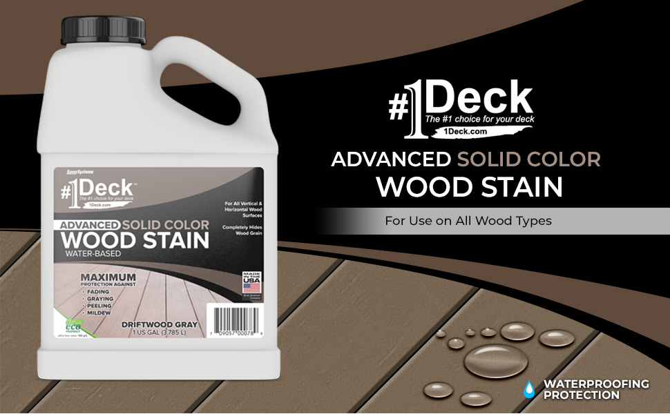 solid stain, opaqe stain, deck paint, deck stain, wood stain, deck sealer, wood sealer