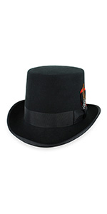 9ad507d71 Belfry Top Hat Theater Quality 100% Wool · Belfry Topper 100% Wool Satin  Lined Men's Top Hat · Belfry Crushable Top Hat Soft Men's 100% Wool Felt