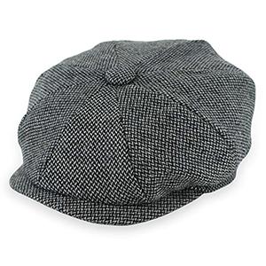 Womens Wool Blend Baker Boy Peaked Cap Belet Newsboy Hat with Elastic ban L/_D
