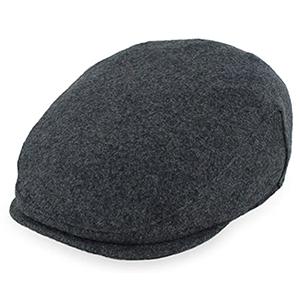 wool tweed flat cap
