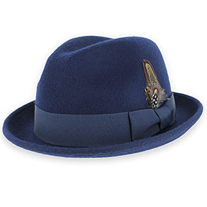 trilby fedora hats