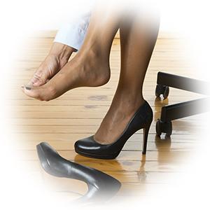 foot shoe pain