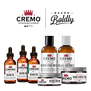 cremo beard scruff cream moisturizes styles and reduces beard itch for all. Black Bedroom Furniture Sets. Home Design Ideas