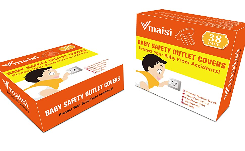 vmaisi 38 pack outlet covers protectors